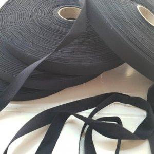 Keperlint 15 mm zwart
